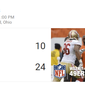 It Has Been A Full Calendar Year Since The Browns Won A Football Game, Give Me JayCutler